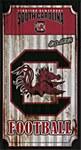 South Carolina Gamecocks Corrugated Metal Sign