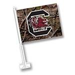 South Carolina Gamecocks Camo Car Flag