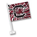 South Carolina Gamecocks TieDye Car Flag