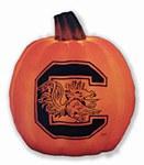 South Carolina Gamecocks Luminary Pumpkin