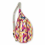 Kavu CHEVRON PUNCH Mini Rope Sling Bag