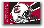 South Carolina Gamecocks Helmet Flag