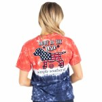 Simply Southern Bone In the USA T-Shirt SMALL