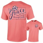 Southernology Grace Through Faith T-Shirt SMALL