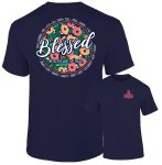 Southernology Blessed No Matter T-Shirt SMALL
