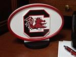 South Carolina Gamecocks Desk Logo Art