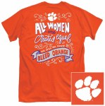 Clemson Tigers Bleed Orange T-Shirt SMALL