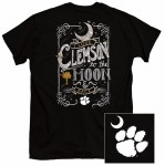 Clemson Tigers Moon & Back T-Shirt SMALL