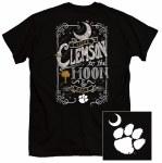 Clemson Tigers Moon & Back T-Shirt SMALL