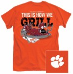 Clemson Tigers Grilln T-Shirt SMALL