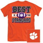Clemson Tigers Best Is Standard T-Shirt SMALL
