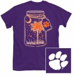 Clemson Tigers Mason Jar T-Shirt SMALL
