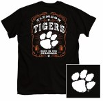 Clemson Tigers Label T-Shirt SMALL