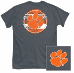 Clemson Tigers Branded Paw T-Shirt SMALL