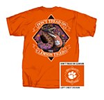 Clemson Tigers Don't Tread T-Shirt SMALL