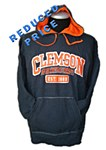 Clemson Tigers NAVY Fleece Hood MD