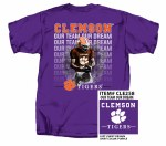 Clemson Tigers Our Team Our Dream T-Shirt X-LARGE