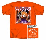 Clemson Tigers Game Ready T-Shirt LARGE