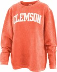 Clemson Tigers Corded Crew-Neck Tee SMALL