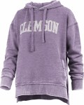 Clemson Tigers Vintage Purple Fleece Hoodie SMALL
