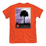 Clemson Tigers Happy Place T-Shirt SMALL