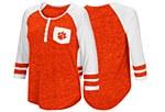 Clemson Tigers Ladies 3/4 Sleeve Tee SMALL