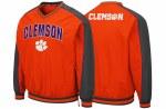 Clemson Tigers Men's Windbreaker Pullover SMALL