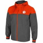 Clemson Tigers Men's Full Zip Jacket SMALL