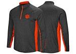 Clemson Tigers Men's 1/4 Zip Windshirt LARGE