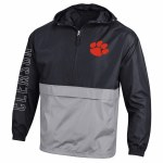 Clemson Tigers Packable 2 Tone Jacket X-SMALL