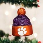 Clemson Tigers Beanie Ornament