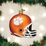 Clemson Tigers Helmet Ornament
