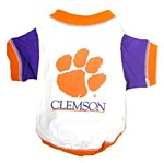 Clemson Tigers Dog T-Shirt LG