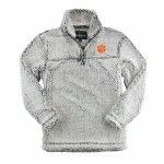 Clemson Tigers Sherpa Pullover X-SMALL