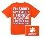 Clemson Tigers I Forgot T-Shirt SM