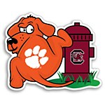 Clemson Tigers Rival Pup Decal