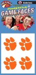 Clemson Tigers 4Pk Face Tattoos