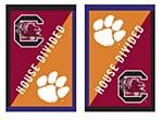 South Carolina Gamecocks/Clemson Tigers House Divided House Flag