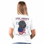Simply Southern Liberty T-Shirt SMALL