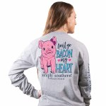 Simply Southern Bacon Long Sleeve T-Shirt SMALL