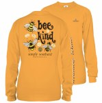 Simply Southern Bee Kind Long Sleeve T-Shirt SMALL