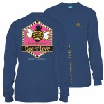Simply Southern Bee Love Youth Long Sleeve T-Shirt YS