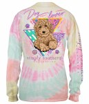 Simply Southern Dog Lover LONG Sleeve T-Shirt SMALL