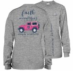 Simply Southern Faith Long Sleeve T-Shirt SMALL