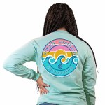 Simply Southern Logowave Long Sleeve T-Shirt SMALL