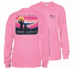 Simply Southern Love Long Sleeve T-Shirt SMALL