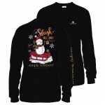 Simply Southern Sleigh Youth Long Sleeve T-Shirt YS