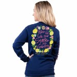 Simply Southern Sour Long Sleeve T-Shirt SMALL
