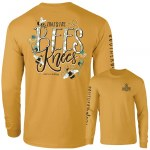 Southernology Bees Knees Long Sleeve T-Shirt SMALL
