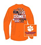 "Clemson Tigers ""Run is Done!"" 2014 T-shirt"